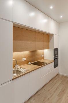 Open Plan Kitchen Living Room, Rental Kitchen, Home Decor Kitchen, Home Kitchens, Kitchen Cupboard Designs, Design Your Kitchen, Interior Design Kitchen, Pantry Design, Cocinas Kitchen