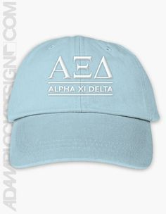 cf249981f0e Alpha Xi Delta - Embroidered Hat -  20 - Available until 2 24 Tri Delta