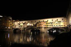 La nuova illuminazione di Ponte Vecchio