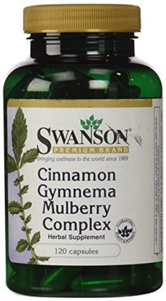 """An effective way to support healthy blood sugar, Cinnamon Gymnema Mulberry Complex features three time-honored herbs that have proven their value for metabolic support.       Famous Words of Inspiration...""""If you go on with this nuclear arms race, all you are going to do is... more details at http://supplements.occupationalhealthandsafetyprofessionals.com/herbal-supplements/cinnamon/product-review-for-swanson-cinnamon-gymnema-mulberry-complex-120-caps/"""