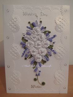 This is the part of a Wedding Book Card (still to design the rest) Wedding Book, Quilling, I Card, Frame, Projects, Design, Decor, Bedspreads, Picture Frame