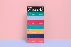 The international Color Swatch Calendar 2016 comes with 371 carefully selected C M Y K colors and a box to collect all the color stripes, including a selection of bookbinder screws to create personal color swatch fans. It is printed on coated and uncoated…