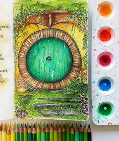 The Hobbit, Night, Artwork, Work Of Art, Auguste Rodin Artwork, Artworks, Illustrators, Hobbit