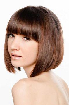 Short Straight Hairstyles 2013-9