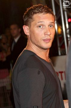 Tom Hardy--my new fave. Hot and has an accent :-)