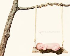 #newbornphotography, #newborn photography, #baby photography   newborn in swing!