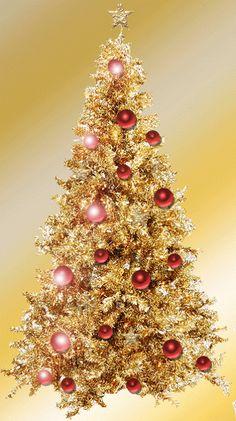 Christmas tree (gif) click twice to see animation Animated Christmas Tree, Xmas Gif, Christmas Scenes, Noel Christmas, Merry Christmas And Happy New Year, Christmas Pictures, Xmas Tree, Christmas Greetings, Winter Christmas