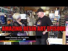 Resin Art Lesson with Judy Waters - YouTube