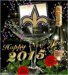 Happy New Year 2015 Saints Fans