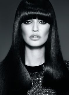 Sleek and smooth hairstyle from hairstyle.com