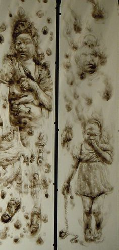 Diane Victor - essentiallyart Drawing Class, African, Drawings, Victor, Artist, Painting, Types Of Art, South African Art, South African Artists