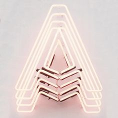 Creative Neon and Aaaa image ideas & inspiration on Designspiration Typography Letters, Typography Design, Hand Lettering, Web Design, Design Art, Graphic Design, Display Design, Type Design, Sign Design