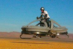 Hover Bike – Un prototype de moto volante ! |