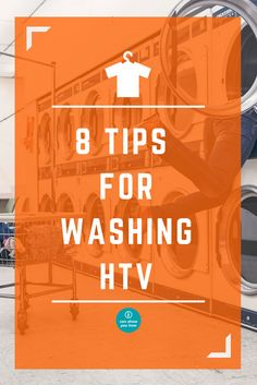 Have you ever wondered how to wash shirts with heat transfer vinyl on them? We have a printable guide you can download that you can even customize with your logo to pass to your customers. Washing htv garments correctly makes sure they last as long as they should and continue to look great!