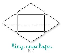 diy tiny envelope template by jessica biscoe gift wrap packaging