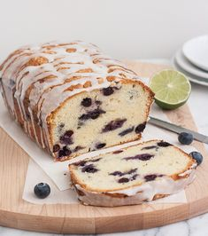 Blueberry-Lime Cream Cheese Pound Cake | Recipe available he… | Flickr