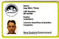 Licensed Building Practitioner , Certified Builder