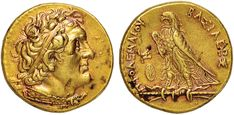 NumisBids: Nomisma Spa Auction 50, Lot 12 : EGITTO Tolomeo II (305-283 a.C.) Pentadramma in oro – Busto...