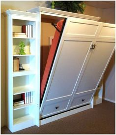 Bedroom. Cool Diy Murphy Bed Ideas Murphy Beds Featured On Hgtvs Compact Cabinet Storages Wooden Frame Murphy Bed Ideas Drawers Modern Murphy Bed Hardawer. Smart Furniture Unit Application for Space Saving with Murphy Bed