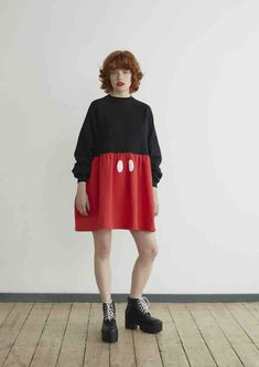 This Lazy Oaf Collection Features All Your Disney Faves   Mickey Mouse dress   90s inspired fashion   [ http://di.sn/600588osJ ]