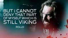 Rollo - Vikings - 4.13 Vikings Ragnar, Norse Vikings, Rollo Lothbrok, History Channel, Me Quotes, Staging, Magic, Graphic Design, Dance