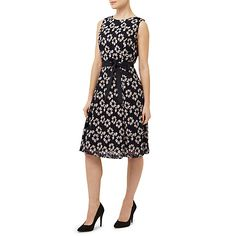 Buy Precis Petite Lace Dress, Multi Black Online at johnlewis.com