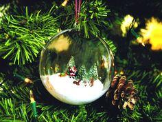 kitty s kreativst bchen acrylkugeln mit elchen und tannenbaum basteleien winter weihnachten. Black Bedroom Furniture Sets. Home Design Ideas