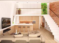 복층의 무한한 매력, 가족을 위한 복층 주택