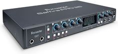 18 x 8 FireWire Audio Interface with Four Preamps, Phantom Power, 8-ch ADAT Input, 2-ch S/PDIF Input, and Onboard DSP Mixing/Routing