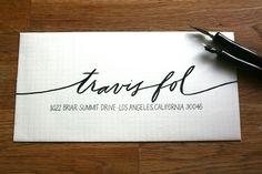 Paintbrush calligraphy
