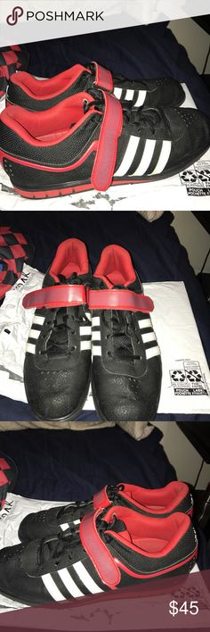 f1e8bd857edda Adidas powerlifting shoes! Good condition! Size 11 adidas Shoes Athletic  Shoes Adidas Men