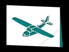 PLANE CARD by Apetroae Stefan With optional backing plate: With optional backing plate