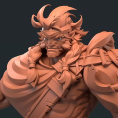 http://www.zbrushcentral.com/showthread.php?209694-Brute&p=1220852&infinite=1#post1220852