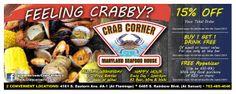 Design for Crab Corner Las Vegas