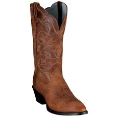 Ariat Heritage Western Boots~ Russet Rebel.  I saw these at Boot Barn and immediately wanted them!