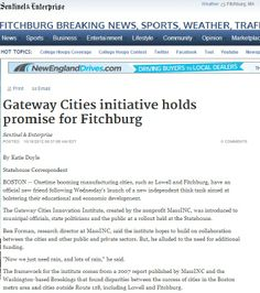 Gateway Cities initiative holds promise for Fitchburg