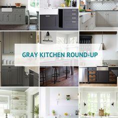 Gray Kitchen Round-Up