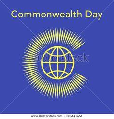 Commonwealth Day. Commonwealth of Nations flag. Flat vector stock illustration