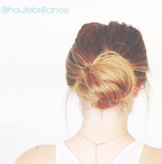4 Easy no heat messy buns by Hautebrilliance on YouTube. She has amazing hair tutorials! (One of the buns shown above.) http://youtu.be/v-yRpzSxk58