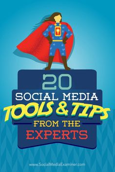 Looking for social media tips to step up your marketing game?  We asked top social media experts to share the tools and tactics theyre using right now.  In this article, youll discover 20 ways you can stay ahead of the social media marketing curve. Via