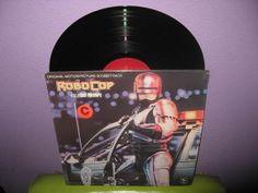 Rare Vinyl Record Robocop Original Soundtrack by JustCoolRecords, $45.00