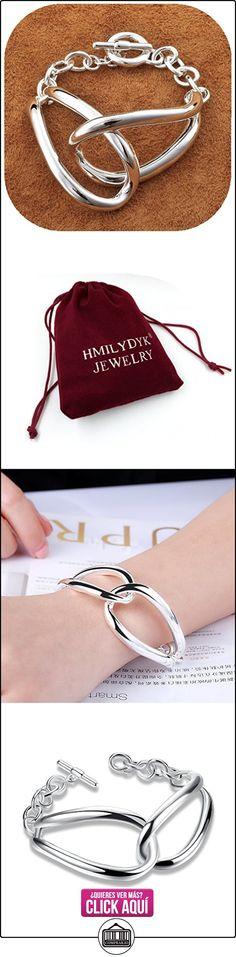 Fashion HMILYDYK 925 pulsera de plata de Unisex con cierre magnético plano U a brazalete  ✿ Joyas para mujer - Las mejores ofertas ✿ ▬► Ver oferta: https://comprar.io/goto/B00VE10X3I