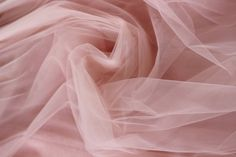 Hand dyed cotton & silk fabric by Valencha Tulle Flowers, Pink Tulle, Tulle Fabric, Pink Fabric, Blush Rosa, Blush Pink, Princess Aesthetic, Pink Aesthetic, Tulle Material