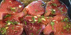asian tuna steaks recipe
