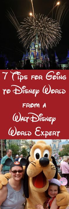 7 Tips for Going to Disney World from a Walt Disney World Expert. Pin this while you plan your trip.