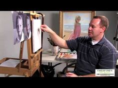 A Head Study (Pt1) with Professional Portrait Artist Brian Neher - YouTube