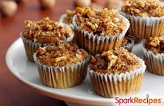 These hearty breakfast muffins are bursting with fiber-rich fruits and veggies (yup, you heard that right�veggies)! These will keep you full all morning without weighing you down.