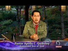The Appointed Son of God, Pastor Apollo C. Quiboloy explains the reason why there is a Son in our generation today. This is a portion of his Christmas messag. Investiture Ceremony, New Jerusalem, Davao, Great Leaders, Son Of God, Apollo, Contents, Spotlight, Need To Know