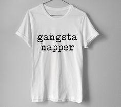 Gangsta Napper Shirt  Gangster Napper Shirt  Funny by TopLifeStore