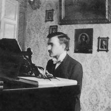 Szymanoeski at home | Karol Szymanowski as a young man (Photo: Tully Potter Collection